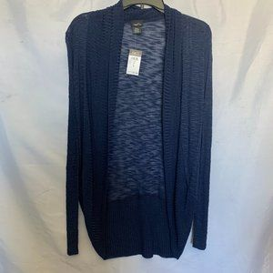 Rue 21 Size S Dark Blue Open Front Cardigan